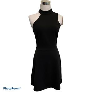 NEW Charles Henry Black Sheath Sleeveless Dress